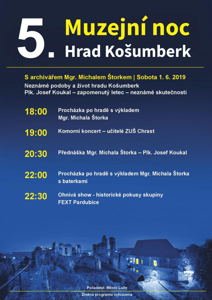 Muzejní noc na hradě Košumberk